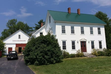 Spacious cozy FARMHOUSE for rent! - New Gloucester - Hus