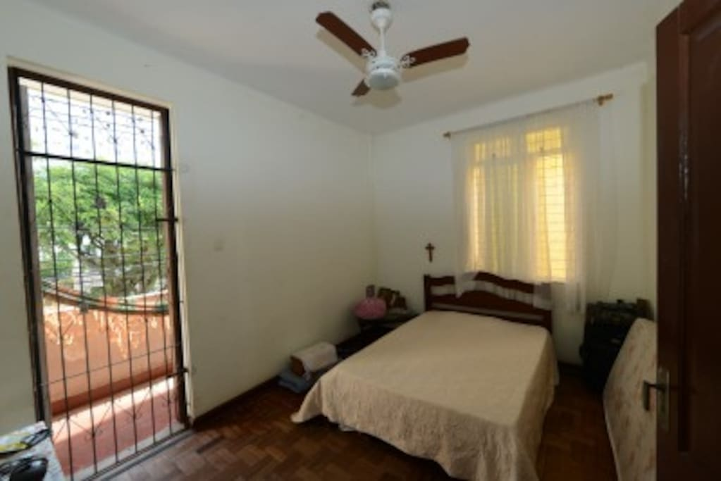 Bedroom with Porch