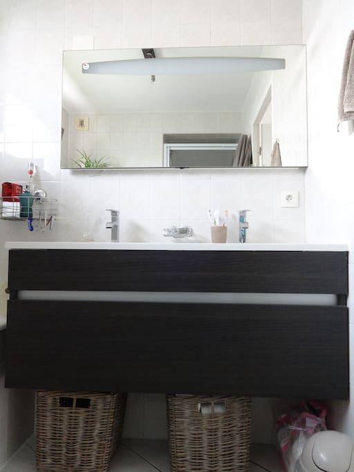 Évier double vasque