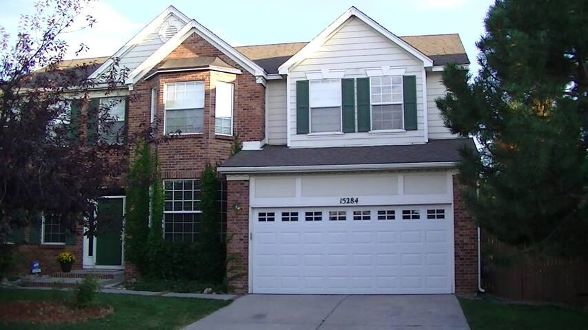 Three bedrooms in  beautiful  Aurora / Denver, Co.