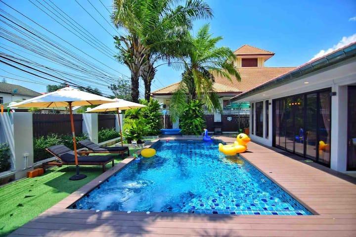 Loft Villa Pattaya  Jomtein Beach  500 M To Beach