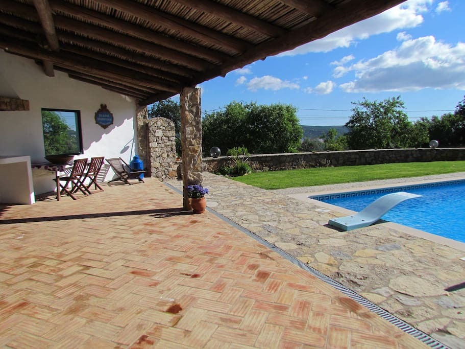 Barbecue e Piscina * B&B and Pool
