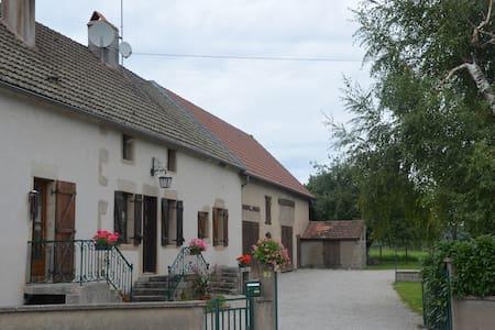 Maison du Val vers Beaune/Autun, vignes et Morvan - Épinac - Rumah