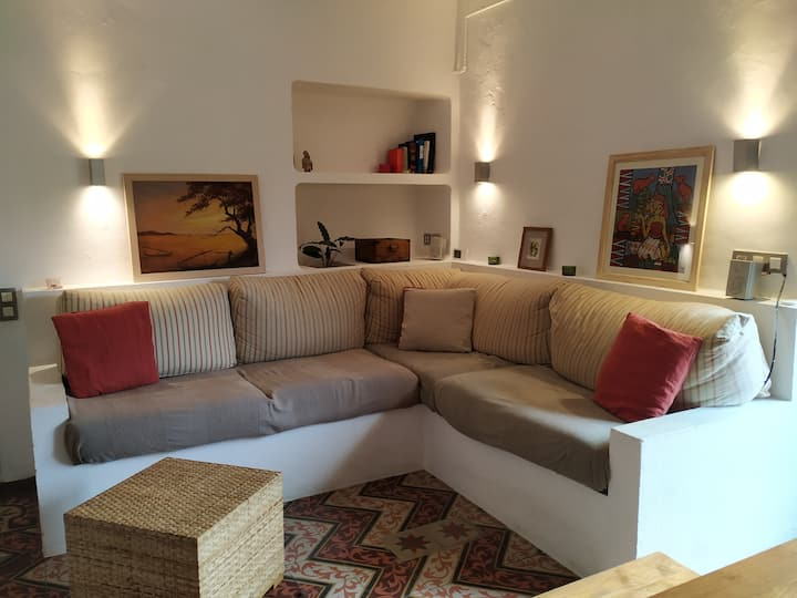 Apartament al centre de Begur amb parking
