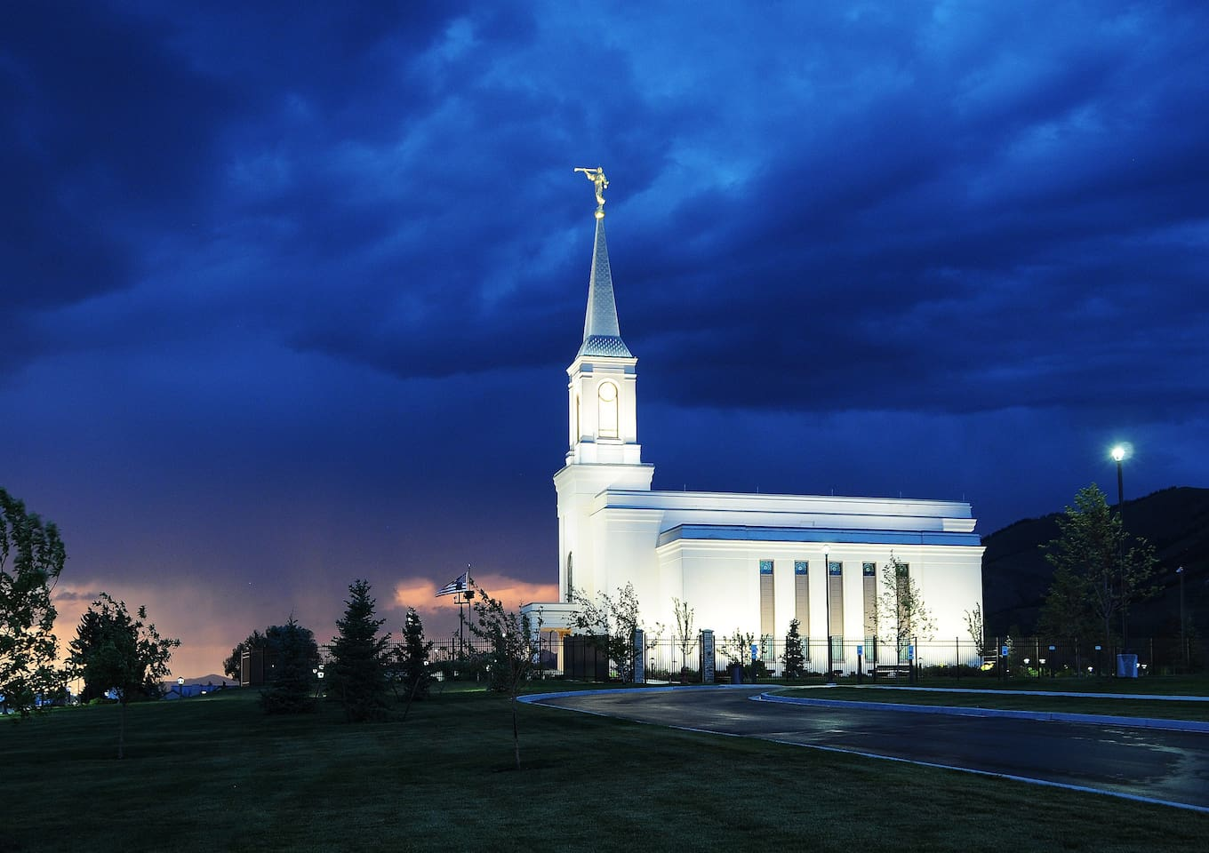 5 minutes from the LDS Temple
