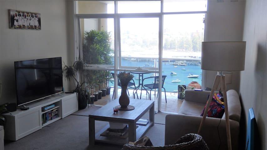 Living Room at Hola Playa Manly
