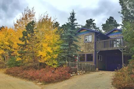 Relaxing Rainbow Mountain Cabin - 네덜란드(Nederland) - 단독주택
