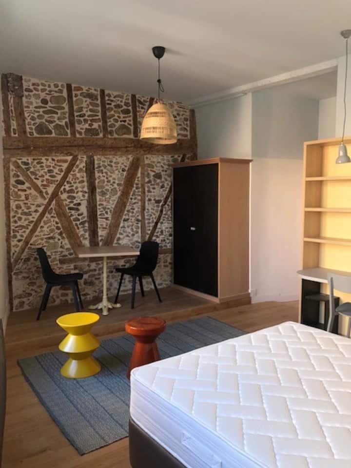 Une chambre tout confort au centre de Foix