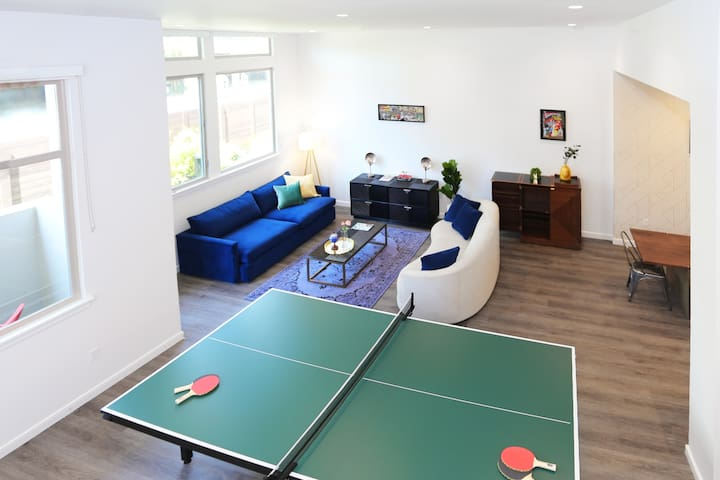 TRIBE ❤️ Fun 2-Level Loft @ Main Street Cupertino