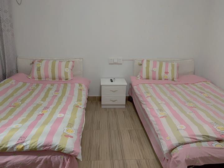 【汐昭民宿】霞浦北岐日出滩涂摄摄影标准双床房302