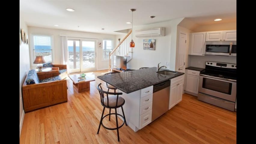 Bright beautiful beachfront duplex! - North Truro - Condo