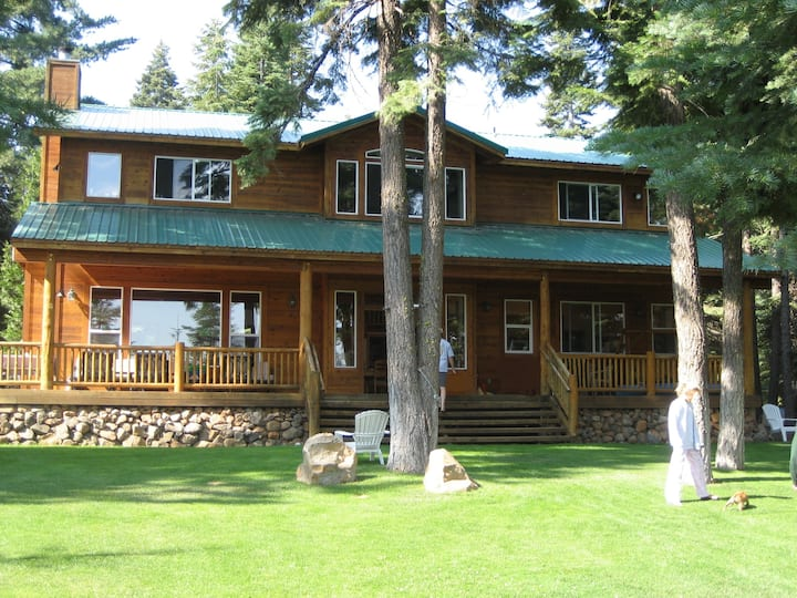 The Lake House on Lake Almanor West