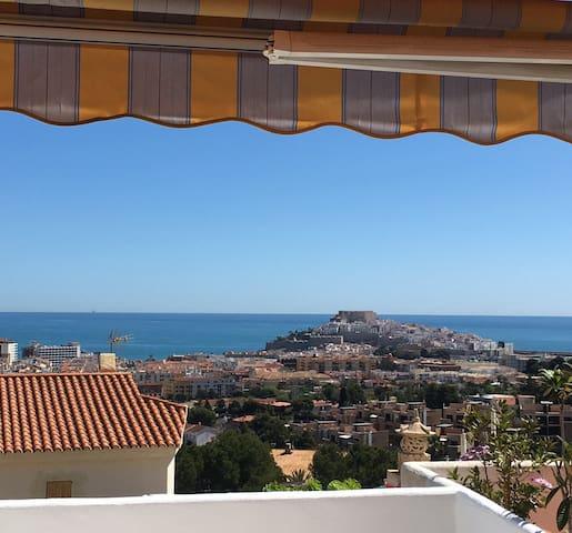 Beautiful house with great seaviews - Peñíscola - Hus