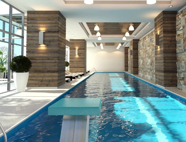 luxury apartment coyoacan with pool jacuzzy etc