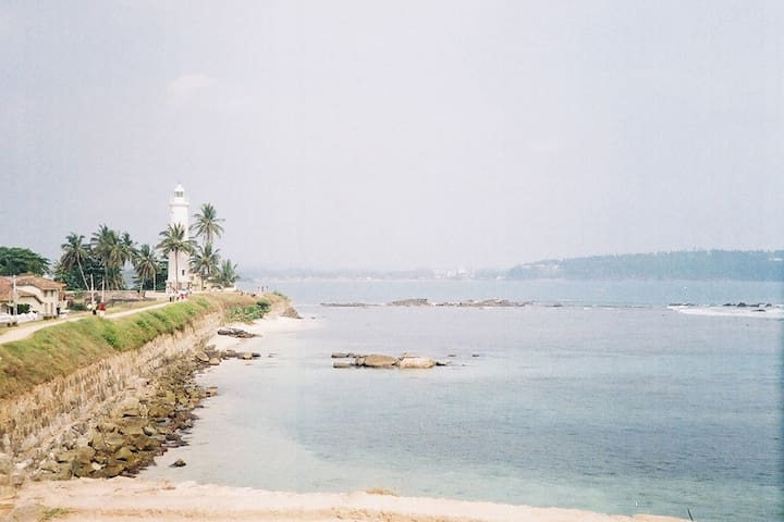 Galle's beautiful fort is just 20 minutes drive away