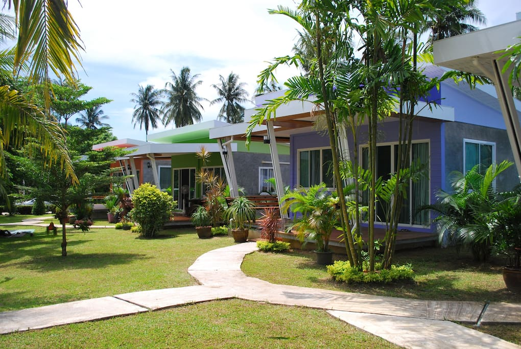 maikhao home garden bungalow bungalows for rent in mai khao. Black Bedroom Furniture Sets. Home Design Ideas
