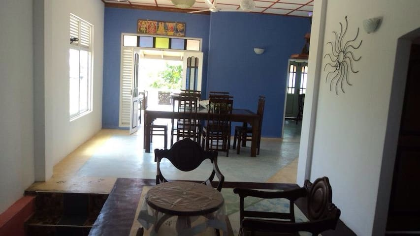 Dining area and terrace