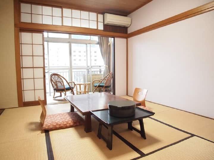 Kinugawa /8 tatami JPN-style room/free breakfast