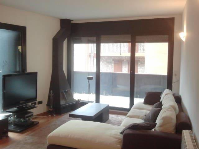 Bonito apto en Soldeu, gran Terraza - Soldeu - Apartment
