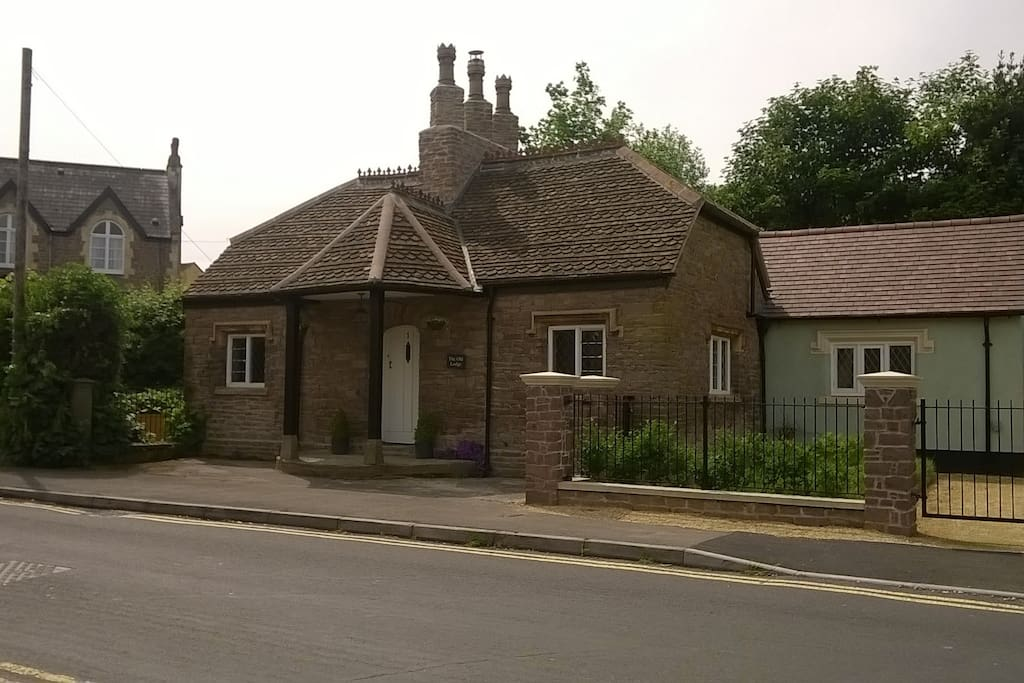 The Old Lodge from the road