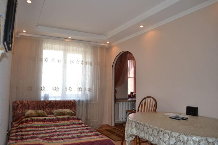 3-х квартира класса ЛЮКС, Wi-Fi!!! - Новосибирск - Leilighet