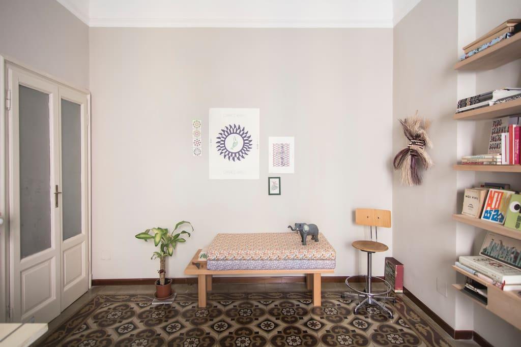 Studio / Living room and studio