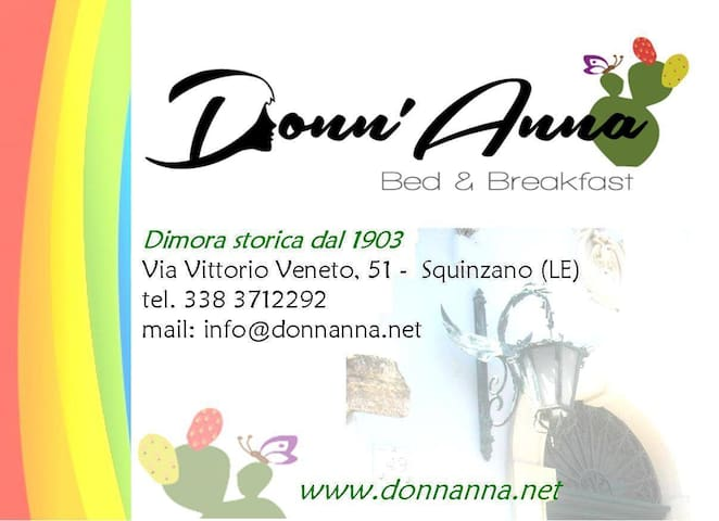 Donn'Anna b&b - Squinzano - Bed & Breakfast