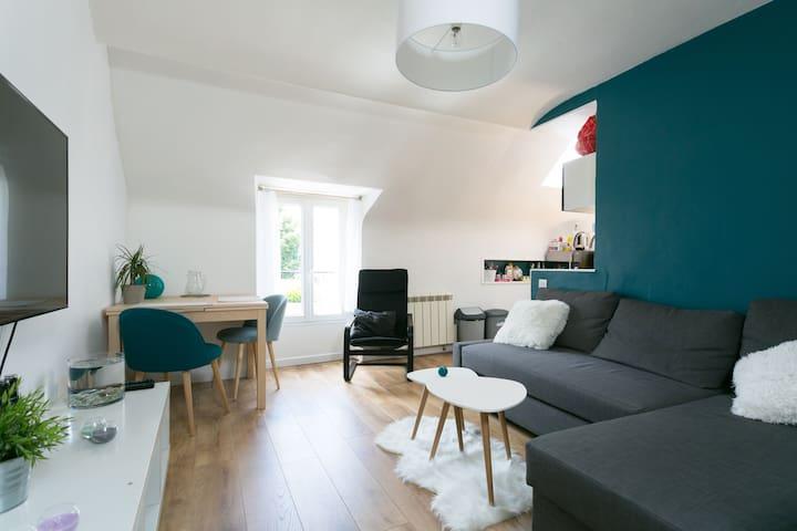 3 pièces chaleureux proche de Paris - Crosne - Apartment