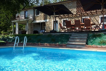 Private pool, stunning views on Tuscan hills - Partigliano - Rumah