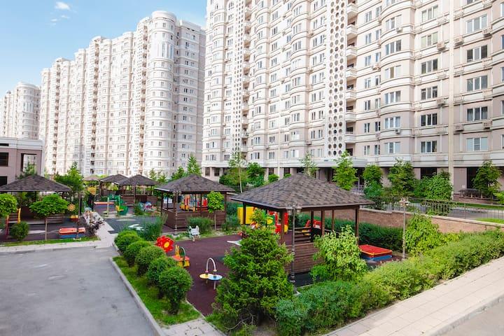 New apartment in a prestigious area of Almaty