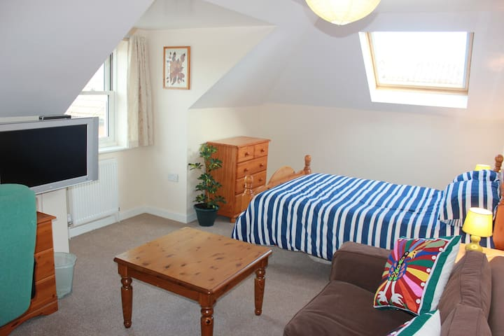 Huge room in new Penthouse flat - Trowbridge - Apartamento