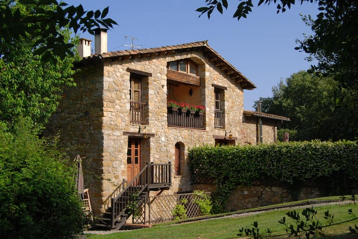 Restored Farmhouse w/Pool & Views 1 - Sales de Llierca - อพาร์ทเมนท์