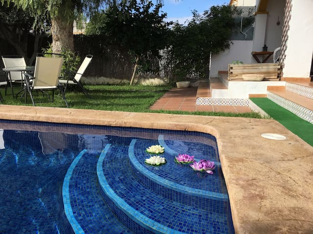 TOWNHOUSE AT THE BEACH WITH POOL - Torre de la Horadada - บ้าน