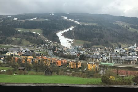 Cozy Apartment on the hill with balcony - Schladming - Wohnung