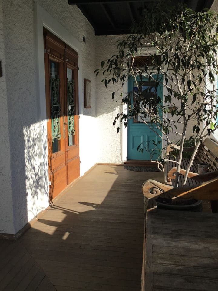 Front verandah and entrance