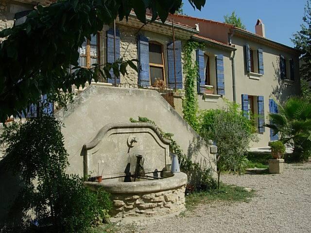 Gîte avec 1 chambre + 1 canapé-lit - Eyguières - Apartamento