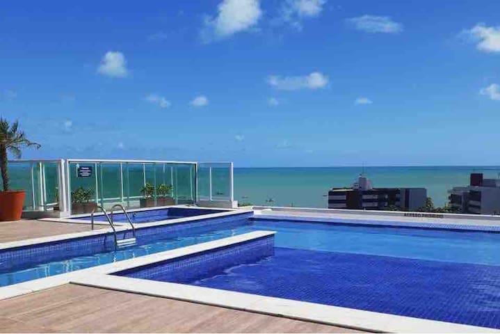 Apartamento moderno e confortável no Caribessa
