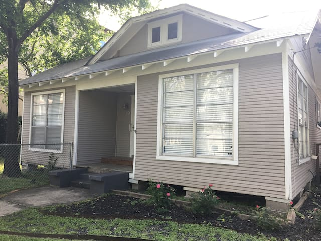 Charming 1930 bungalow with fenced yard.