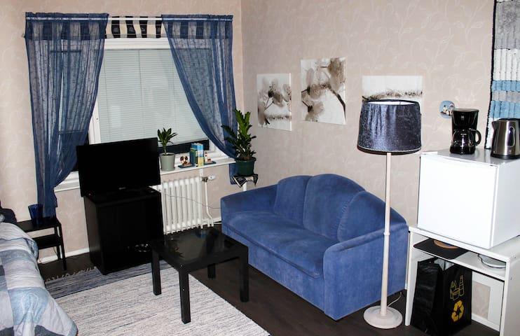 Käytännöllinen huoneisto Pietarsaaressa