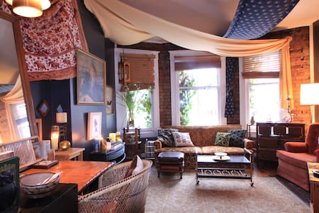 Eclectic Apartment in the Avenues - Salt Lake City - Bed & Breakfast