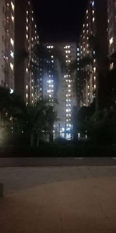 Apartemen puncak kertajaya type studio A02