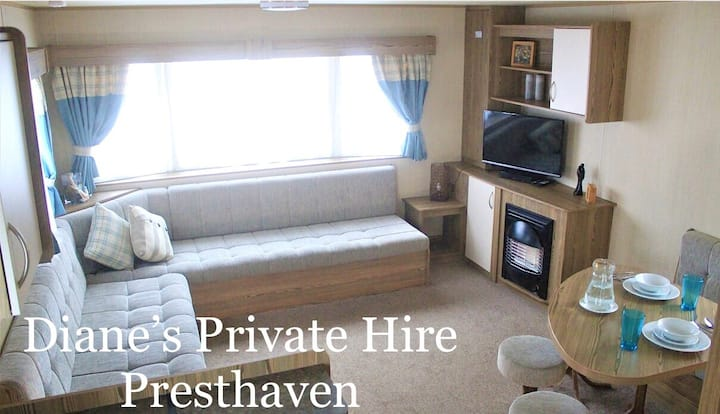 8 Berth Caravan Holiday - Presthaven Sands
