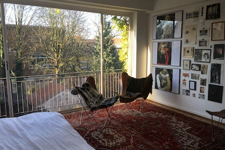 Studio apartment in the heart of Ixelles - Ixelles - Appartamento