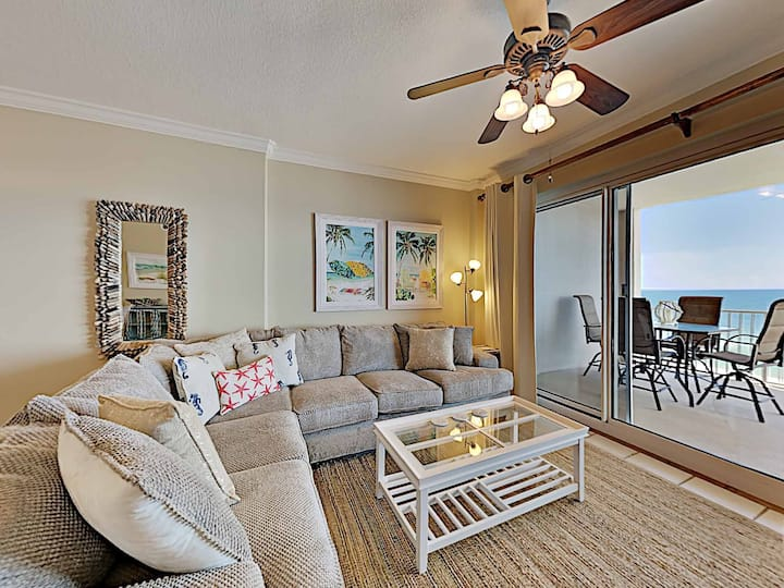 Coastal Condo With Recent Upgrades and Breathtaking Beach Views!