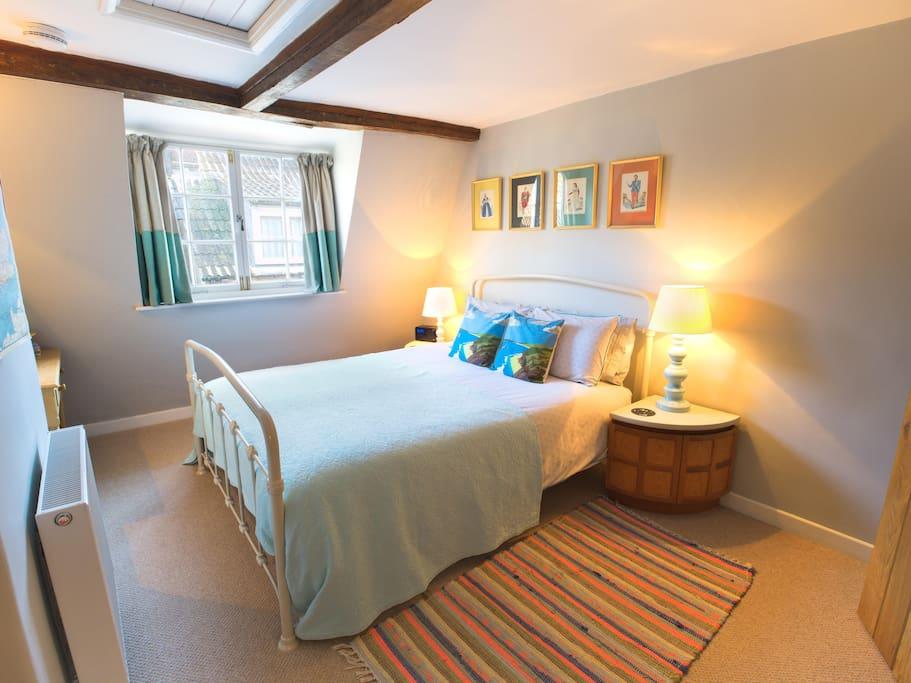 Top floor bedroom with en-suite
