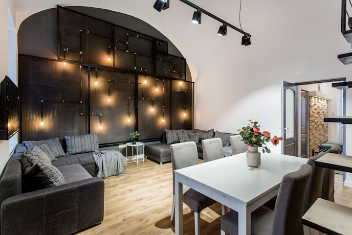 Modern apartment with own BEER TAP and free beer!