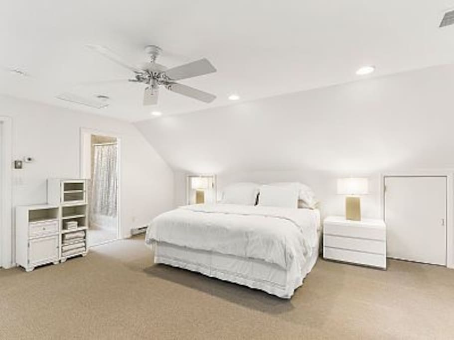 One of two Master Bedrooms with walk-in closet and full bath