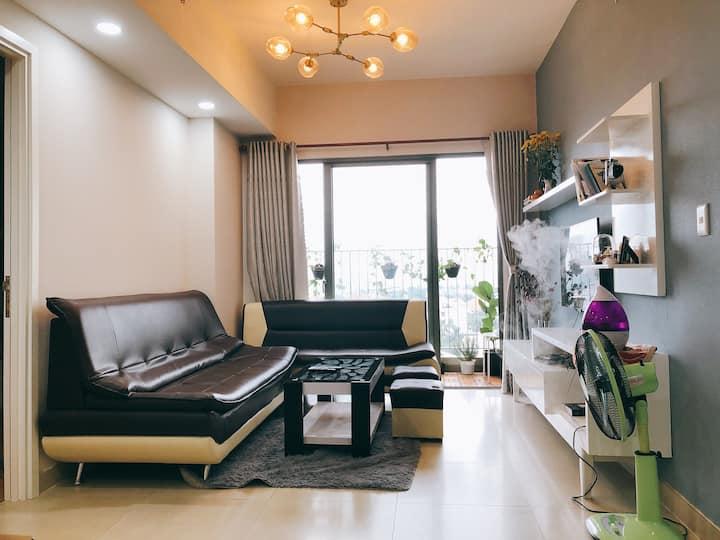 Cozy & security BR in Masteri Thao Dien Appartment