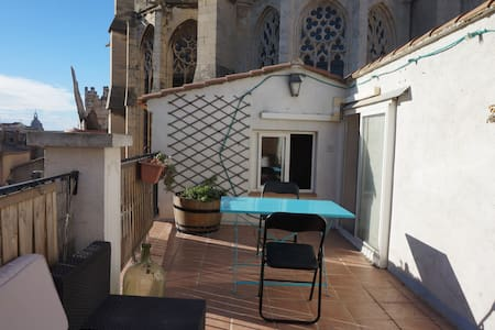 The terrace of the Cathedral - Apartment