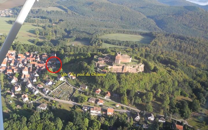 """Gîte Au Pied du Château """"Les Girolles"""""""